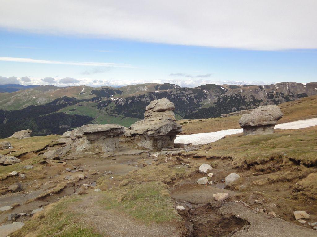 Senderismo en Rumania, trekking en Bucegi