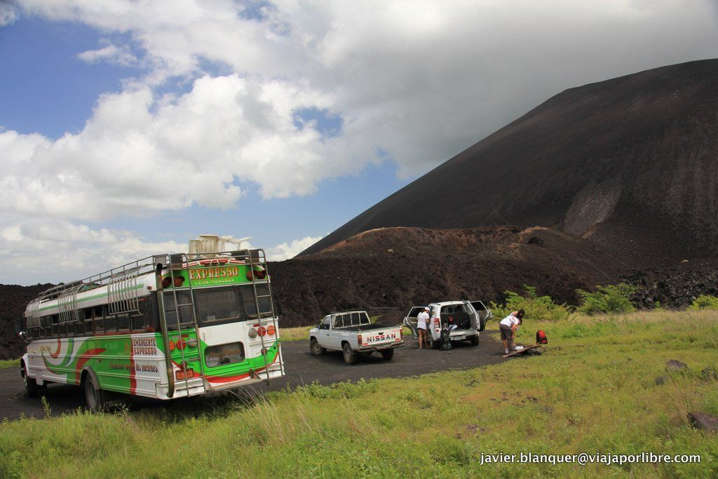Parking Volcán Cerro Negro