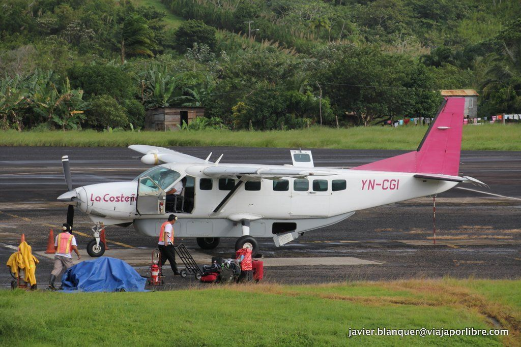 Avión desde Bluefields