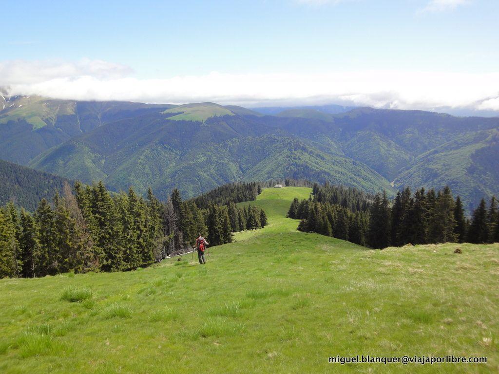 Bajando del Monte Rosu