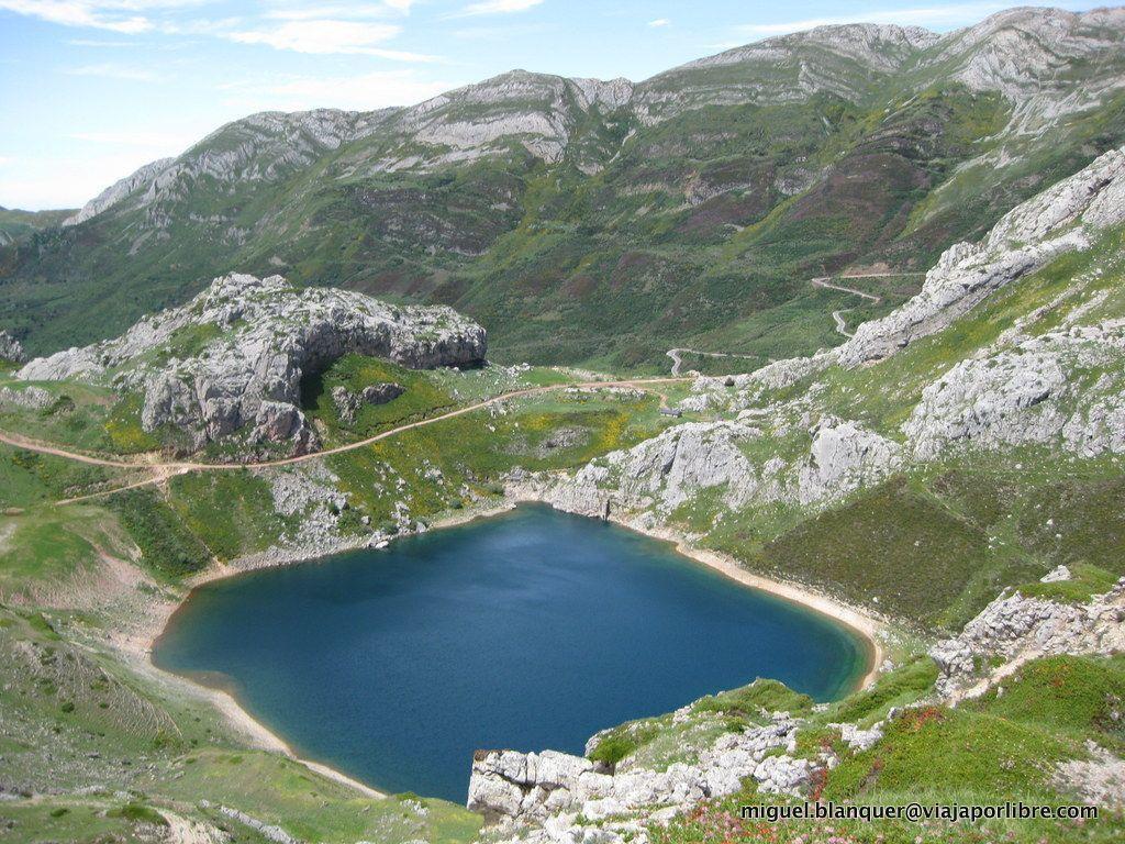 Lago de la Cueva (Somiedo)