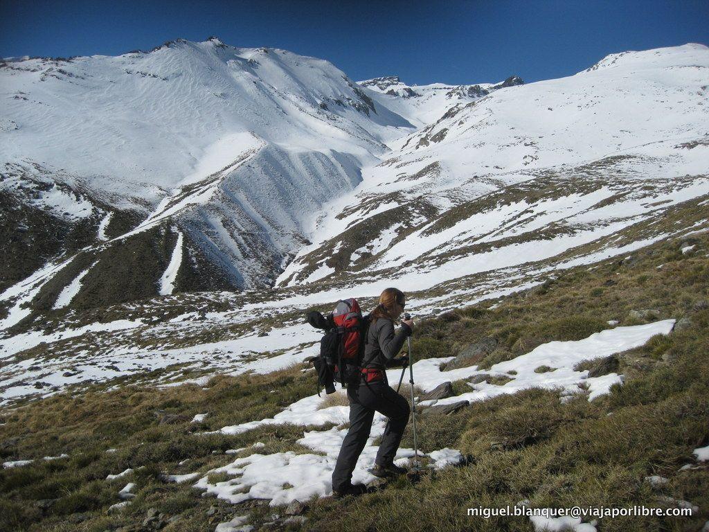 Camino al Mulhacén