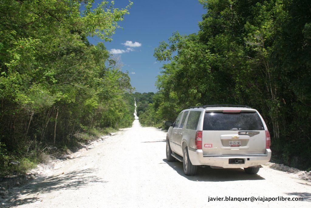 Saliendo de Belize de camino a Yaxha