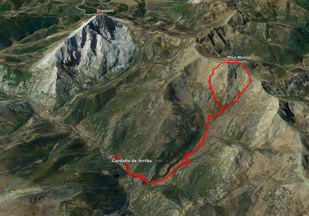 Mapa Pico Murcia