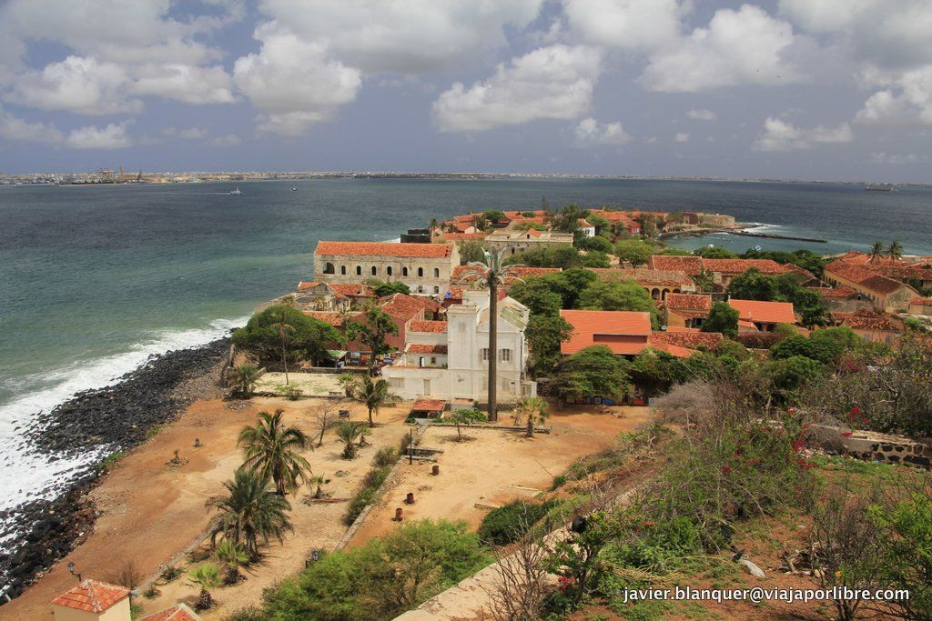 Vistas de Isla de Gorée