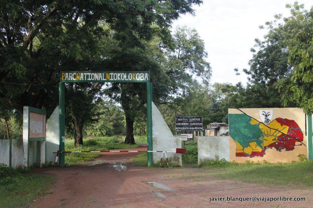 Entrada a Niokolo Koba