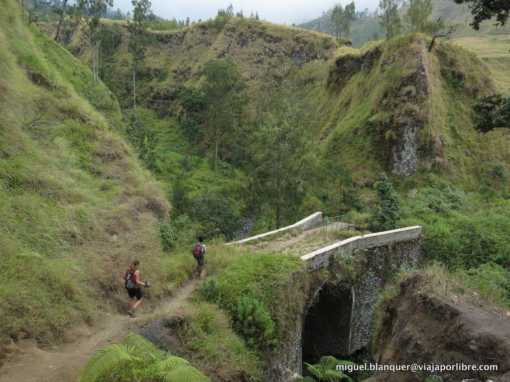 Trekking en Rinjani