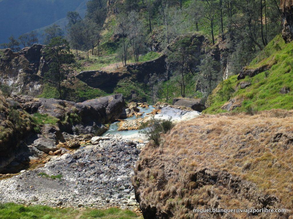 Hot Springs en Rinjani