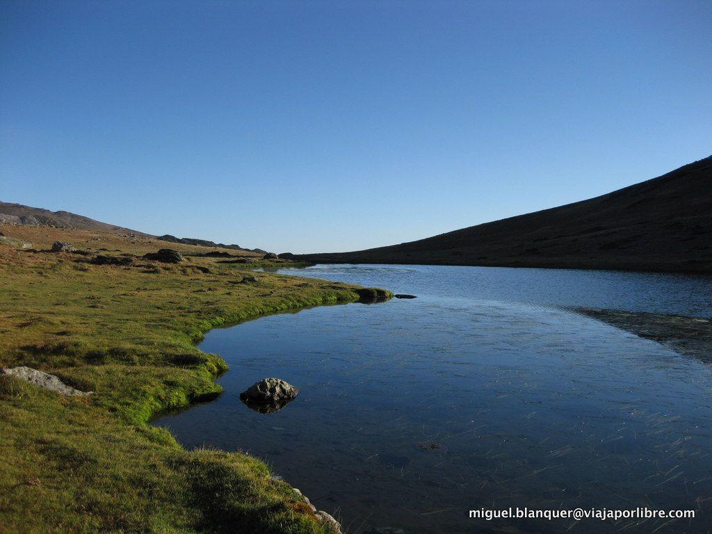 Laguna en las cercanía del Curavacas