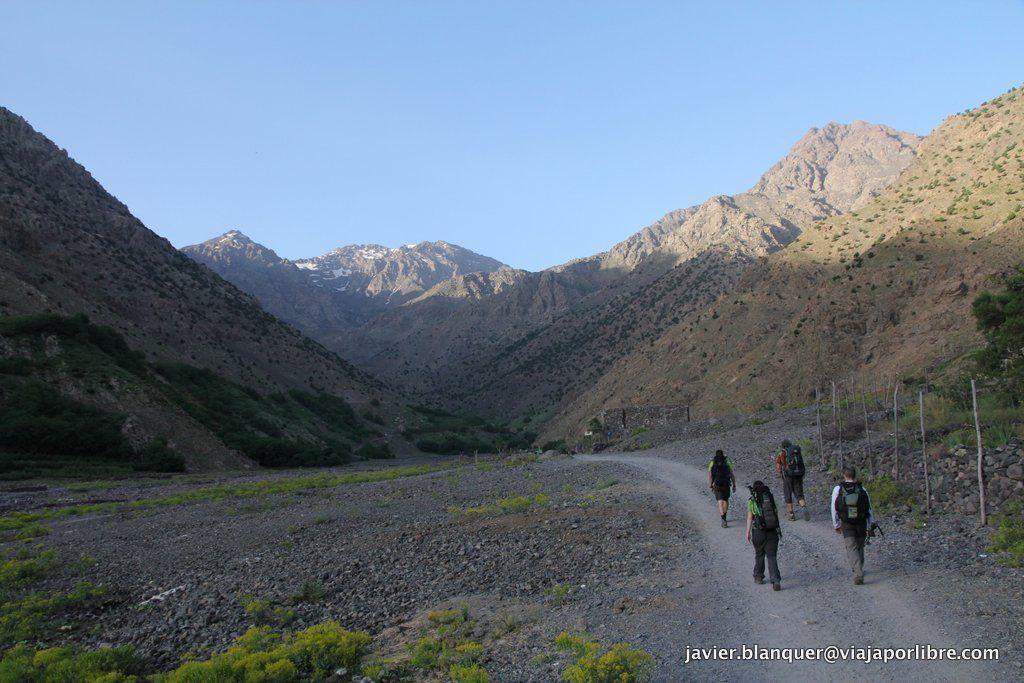 De camino al Toubkal