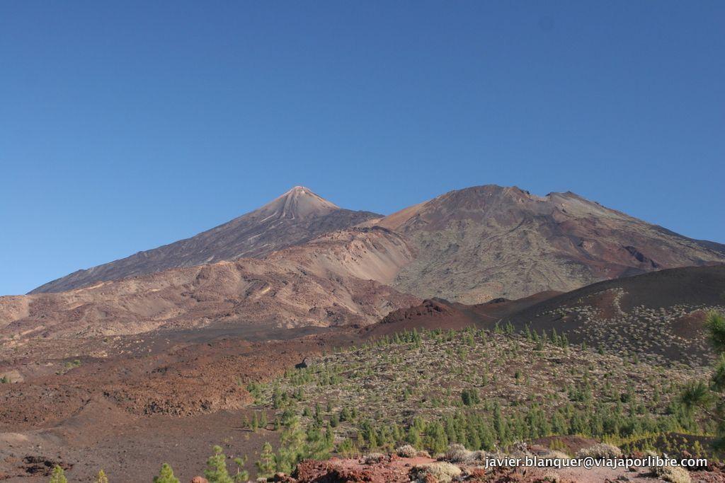 Vista del Pico Viejo y del Teide