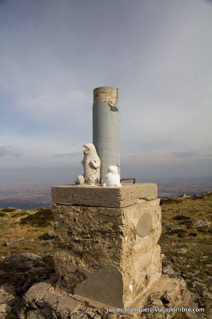 La cima de la Peña del oso