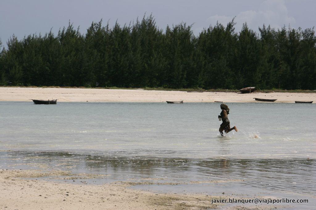 Pesca en Zanzibar