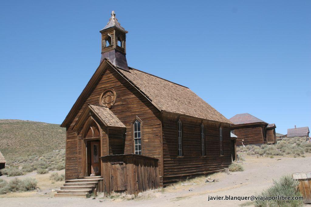 La iglesia de Bodie