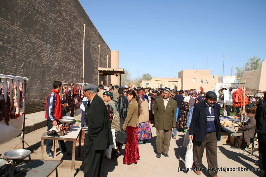 Mercado en Khiva