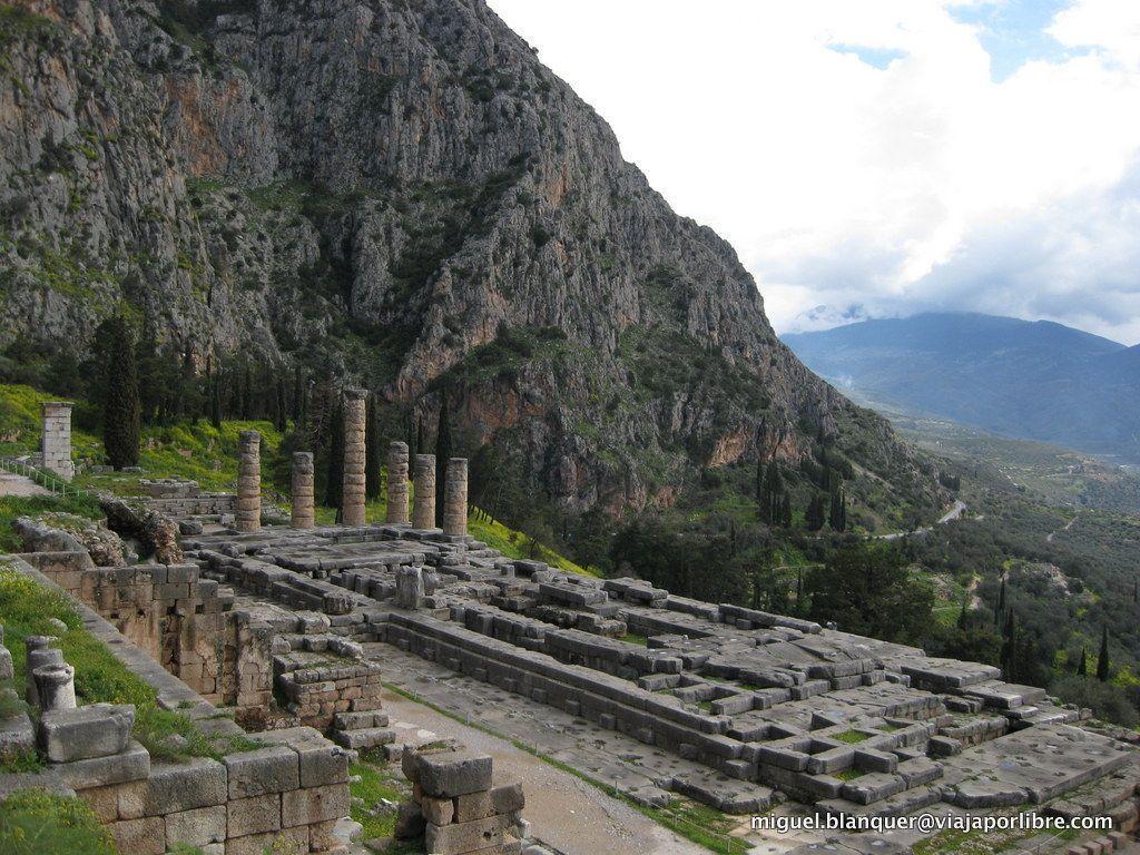 Ruinas de Delfos