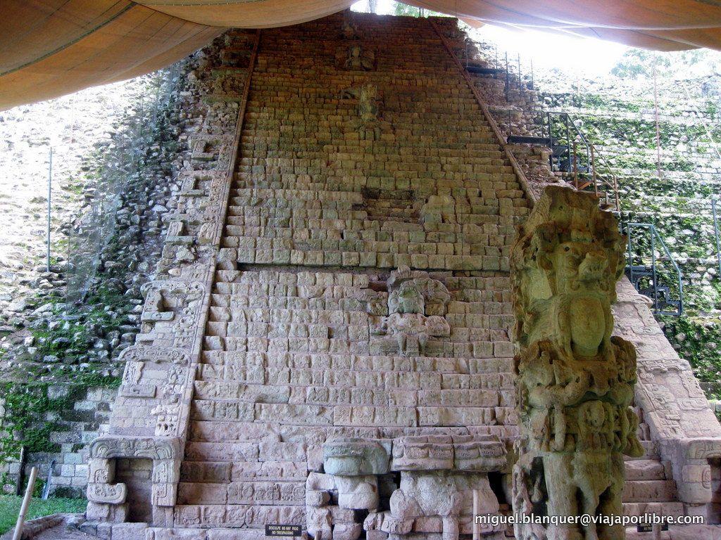 Escalinata de los jeroglíficos