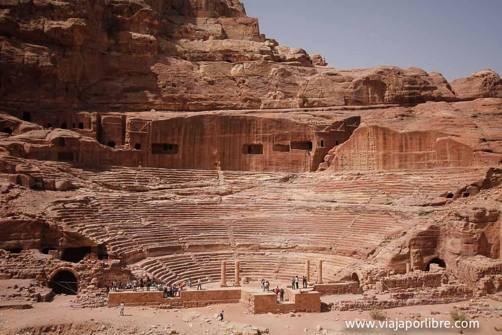 Teatro Nabateo del siglo I d.c