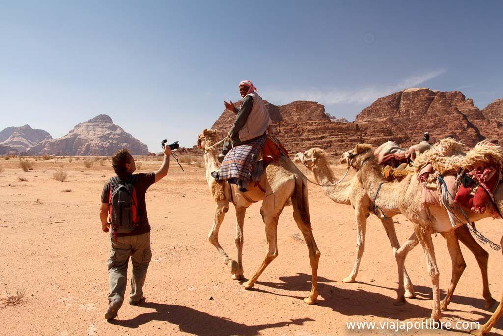 Wadi Rum y Paco Nadal