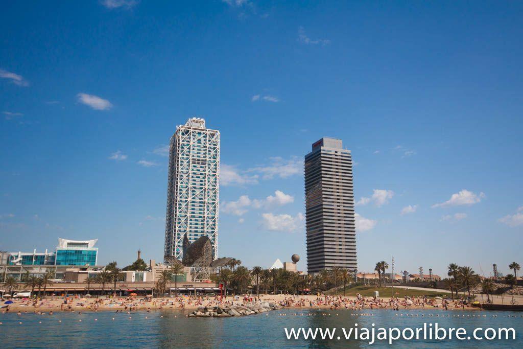 Hotel Arts y la torre Mapfre