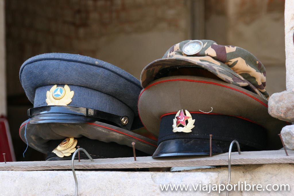 Gorras soviéticas