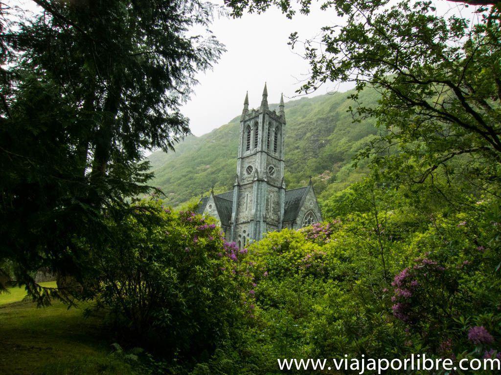 Iglesia Gótica en Kylemore