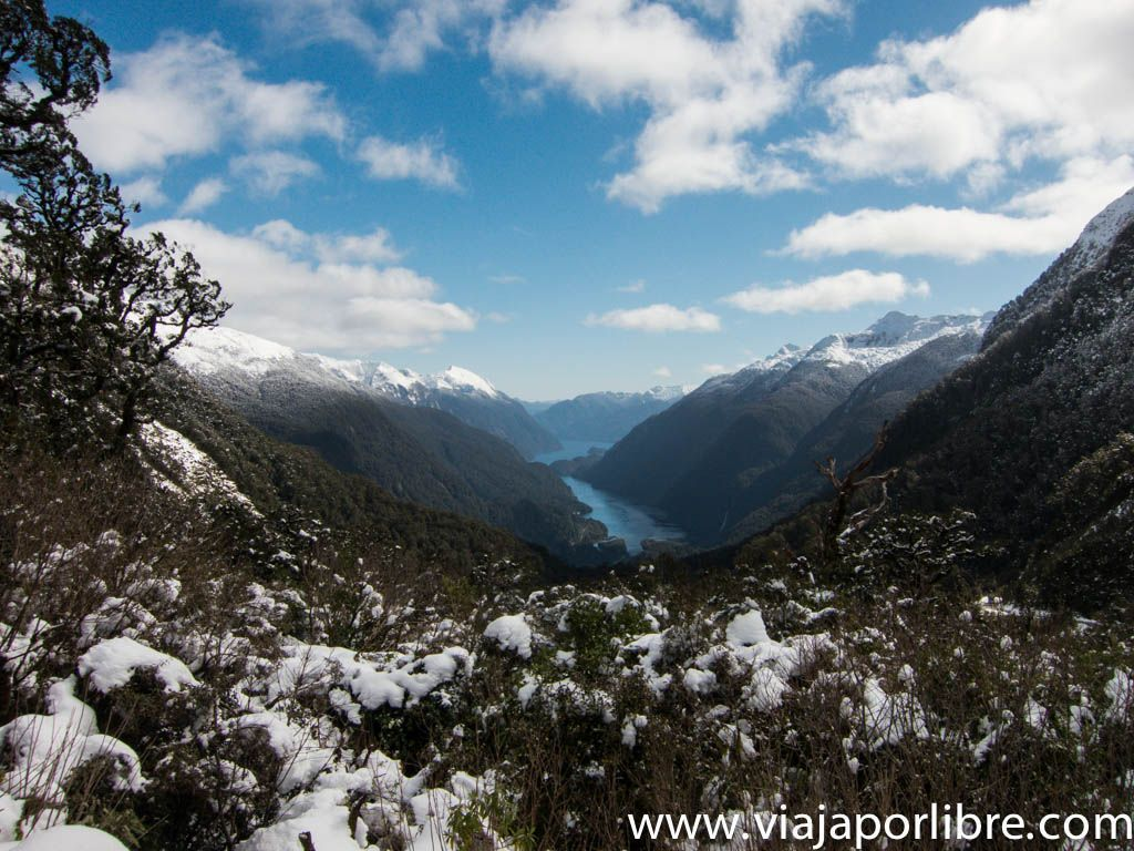 Doubtful Sound desde Willmot Pass
