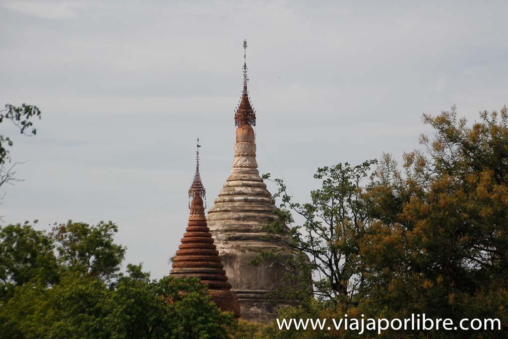 Gawdawpalin Phaya, old Bagan
