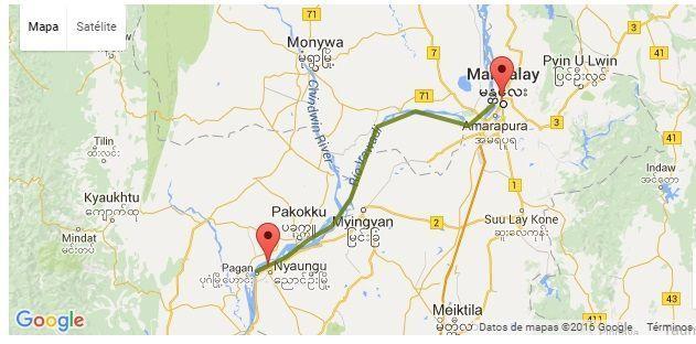 Mapa de Malikha river
