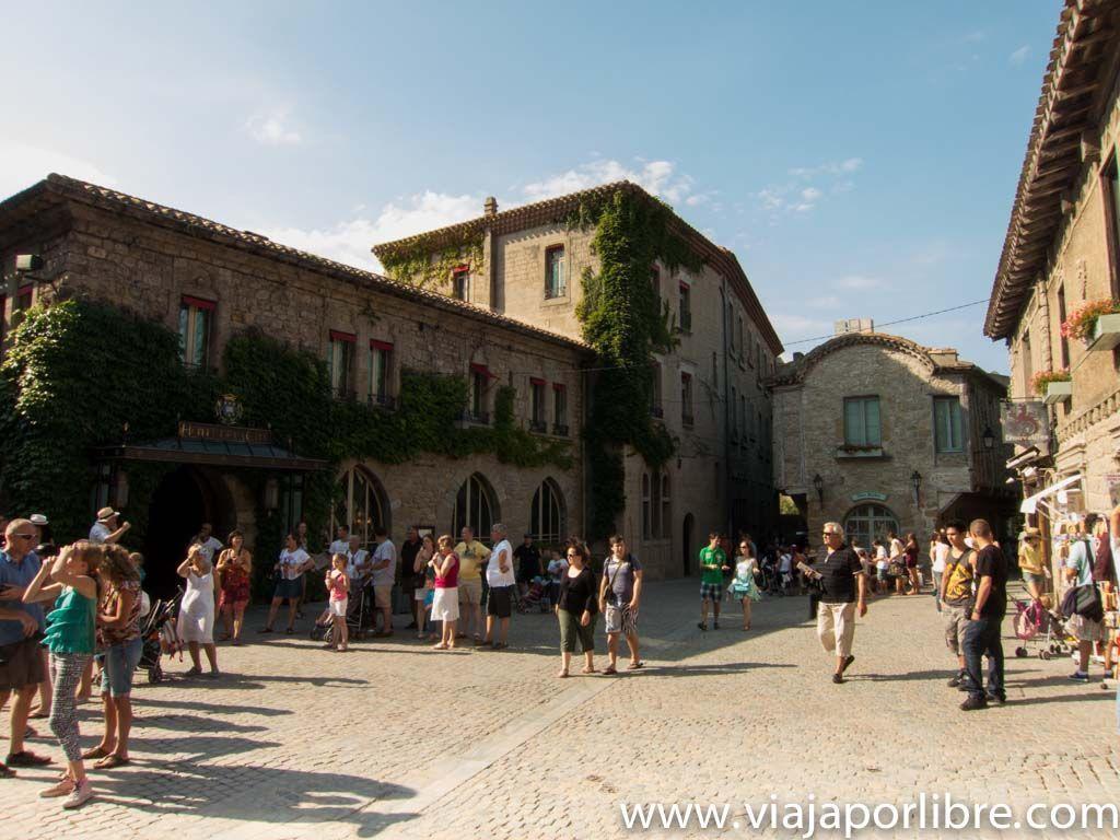 La ciudad amurallada de Carcassonne
