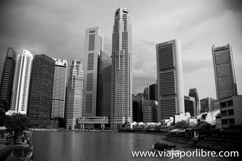 La ciudad de Singapur
