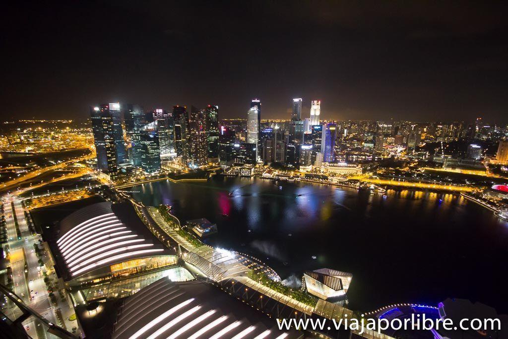 Desde el Marina Bay Sands