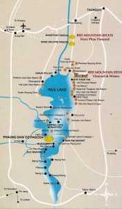 Mapa del Lago Inle