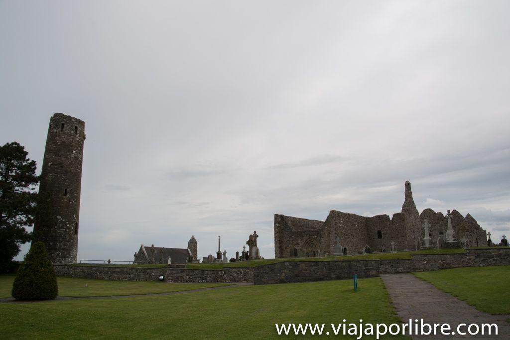 Monasterio de Clonmacnoise - O'Rourke's Tower