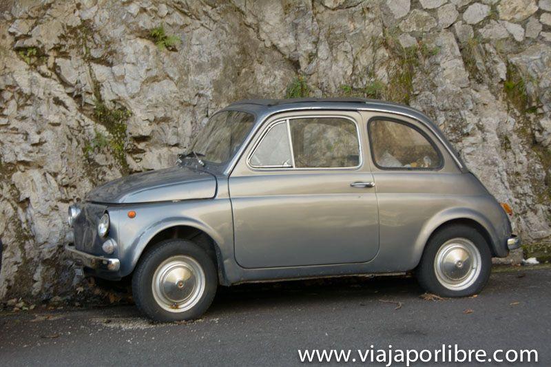 Costa Amalfitana - Fiat 500