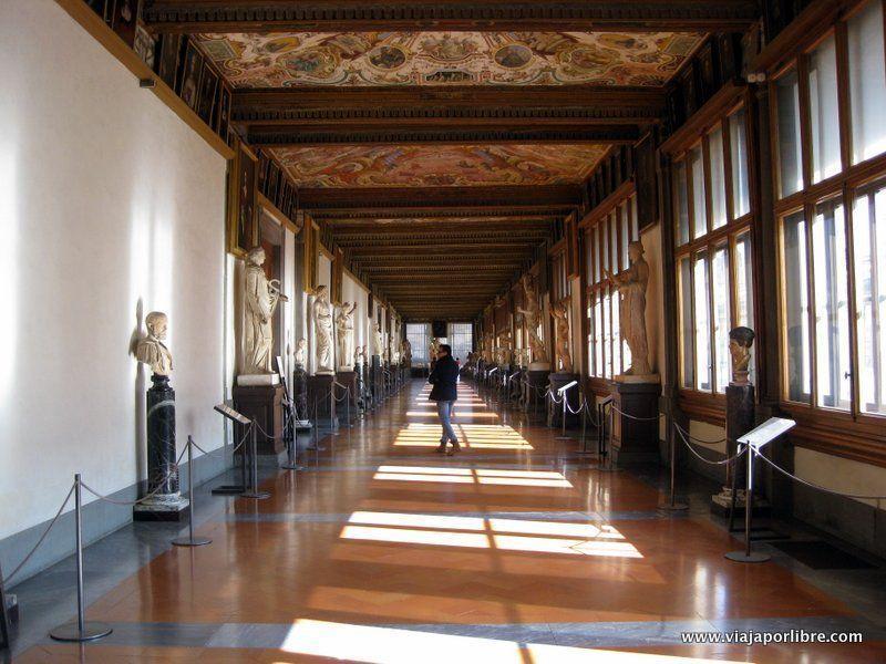 Que ver en Florencia - Galería de los Uffizi