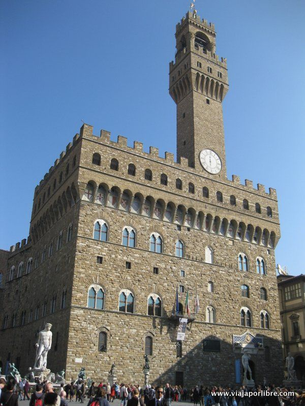 Que ver en Florencia - Palazzo Vecchio