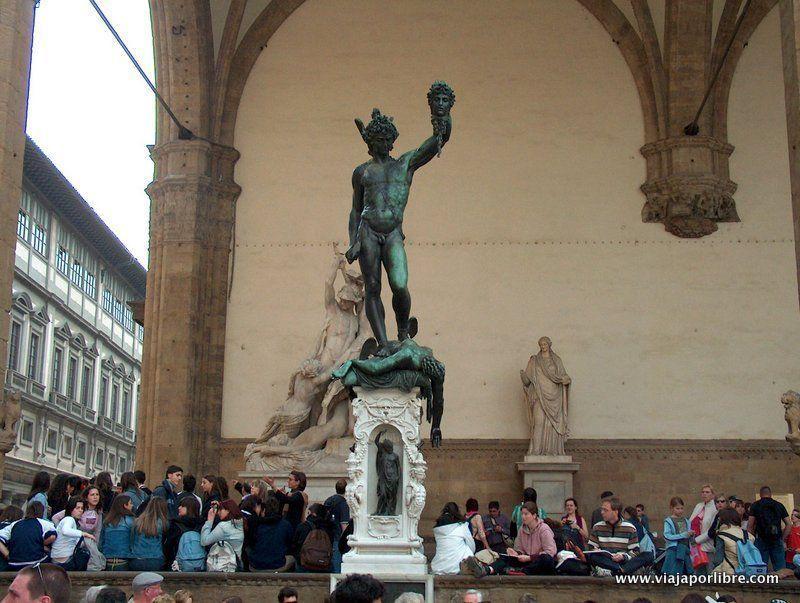 Que ver en Florencia - La Piazza della Signoria - Perseo