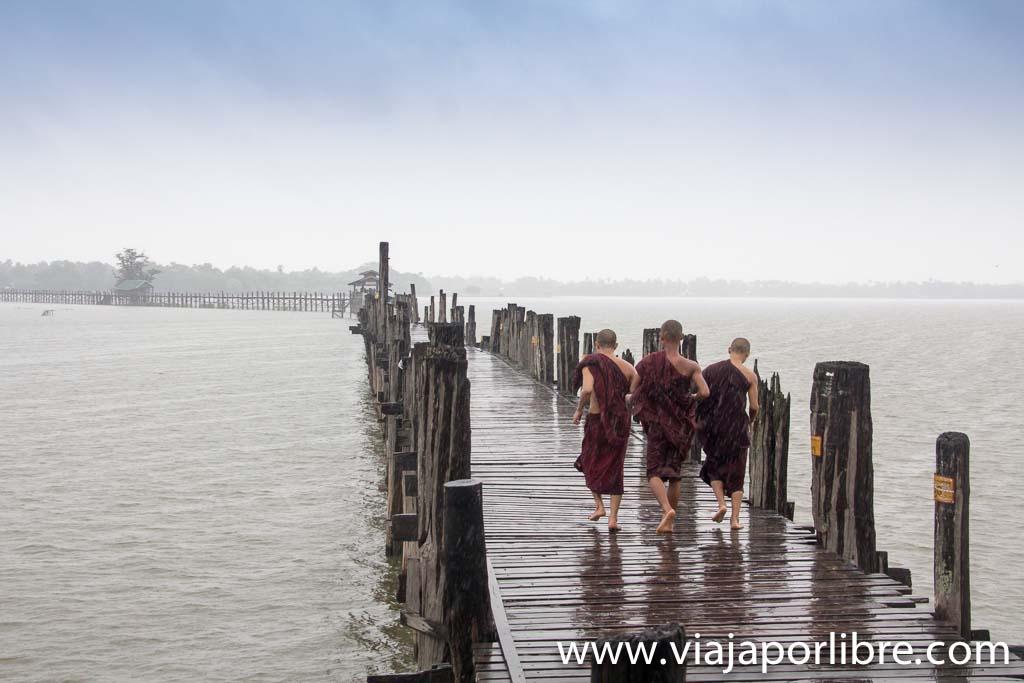 Puente de Teca, Mandalay