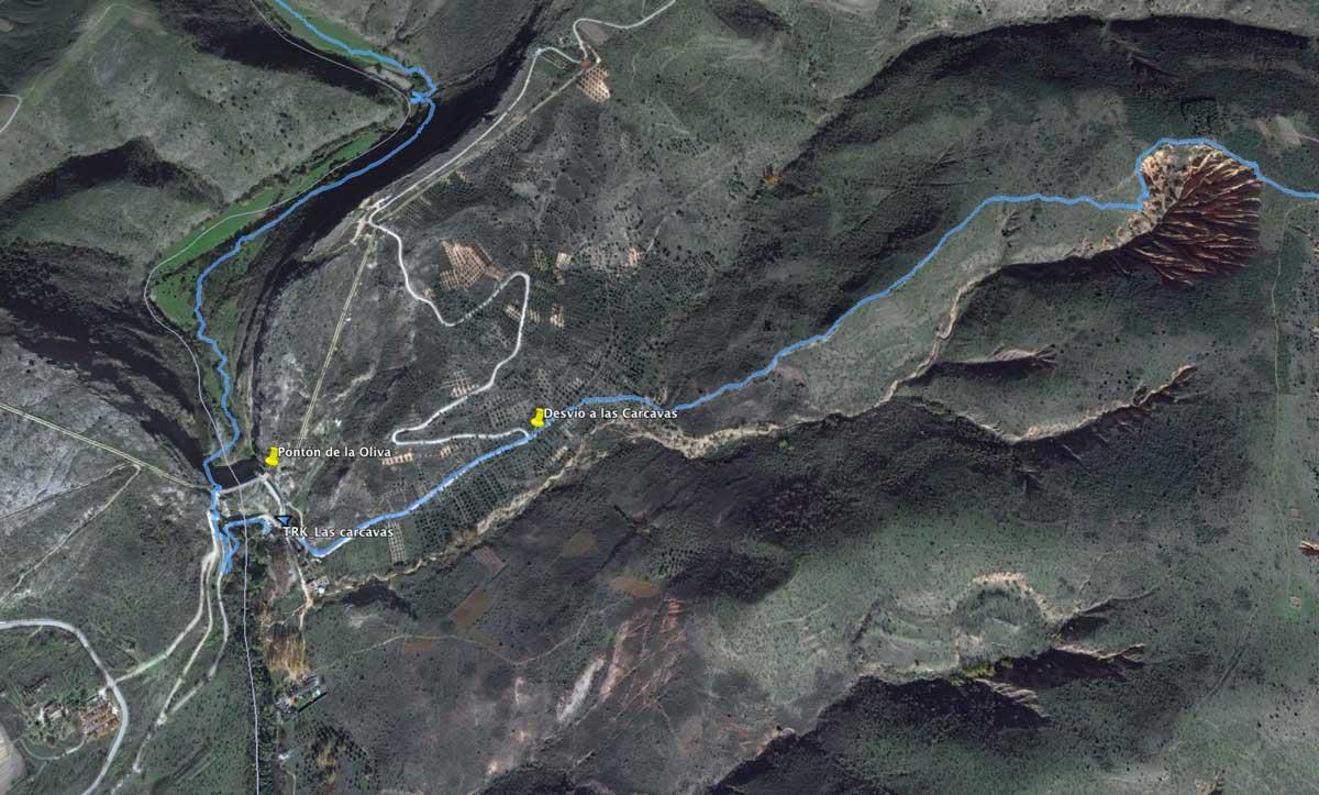 Ruta al Pontón de la Oliva y las Carcavas