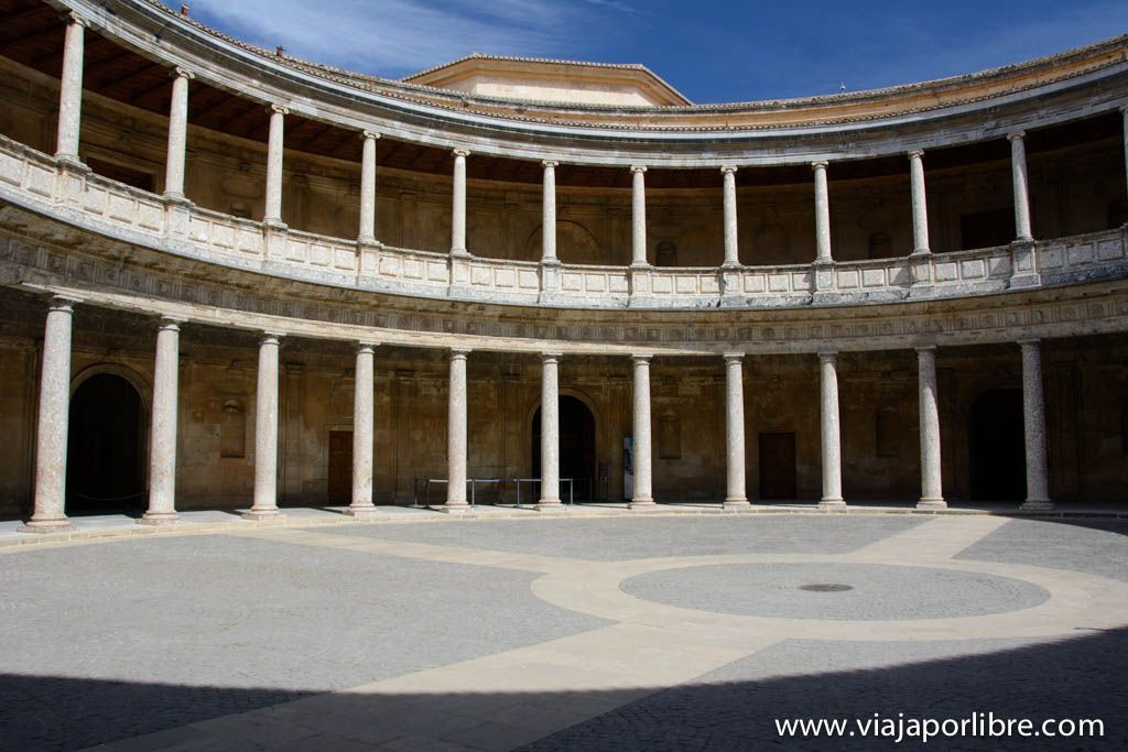 Palacio de Carlos V - La Alhambra