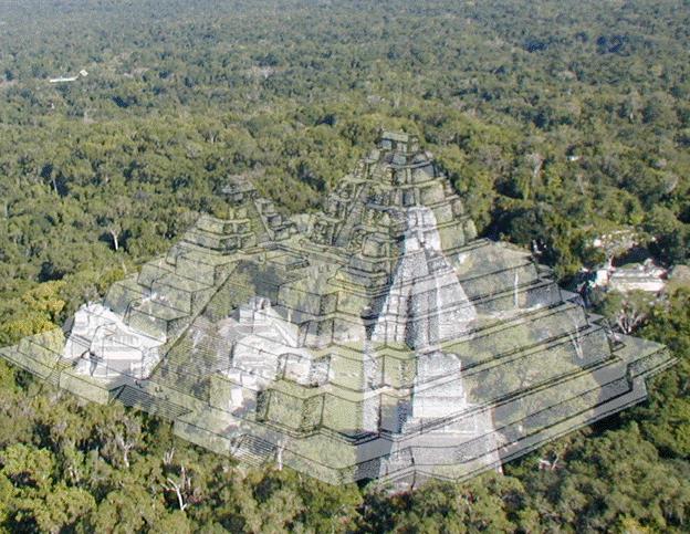 Tamaño de la pirámide