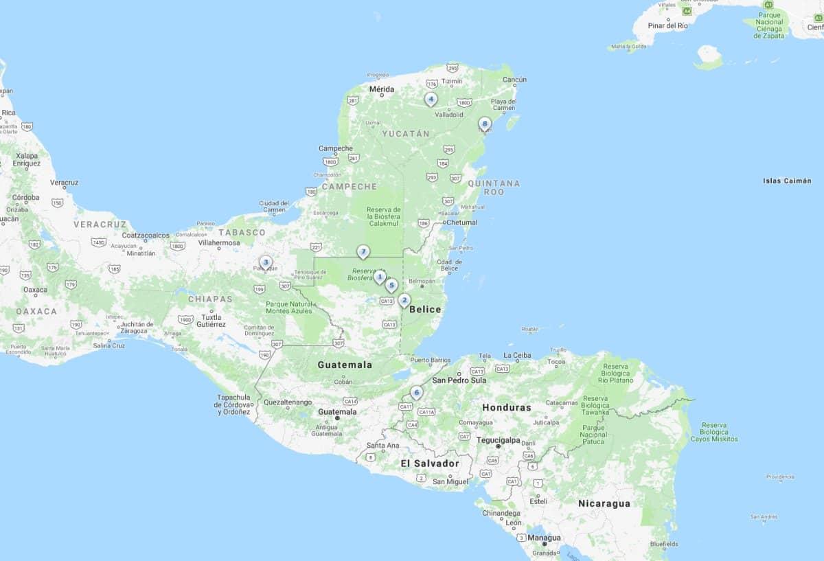 Ciudades Mayas más espectaculares