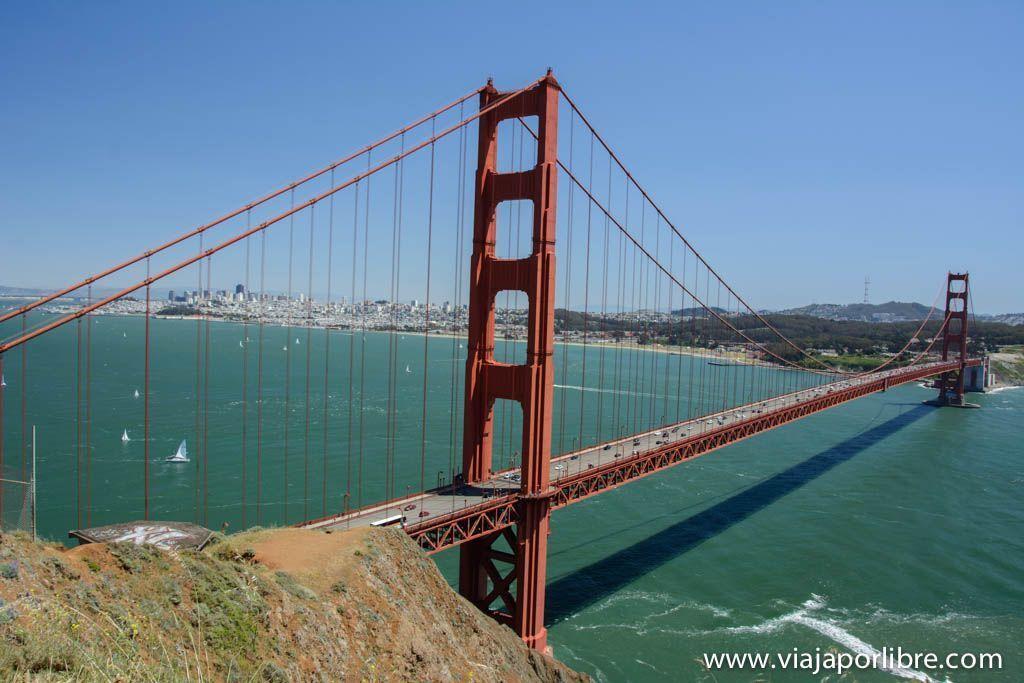 Golden Gate desde Battery Spencer