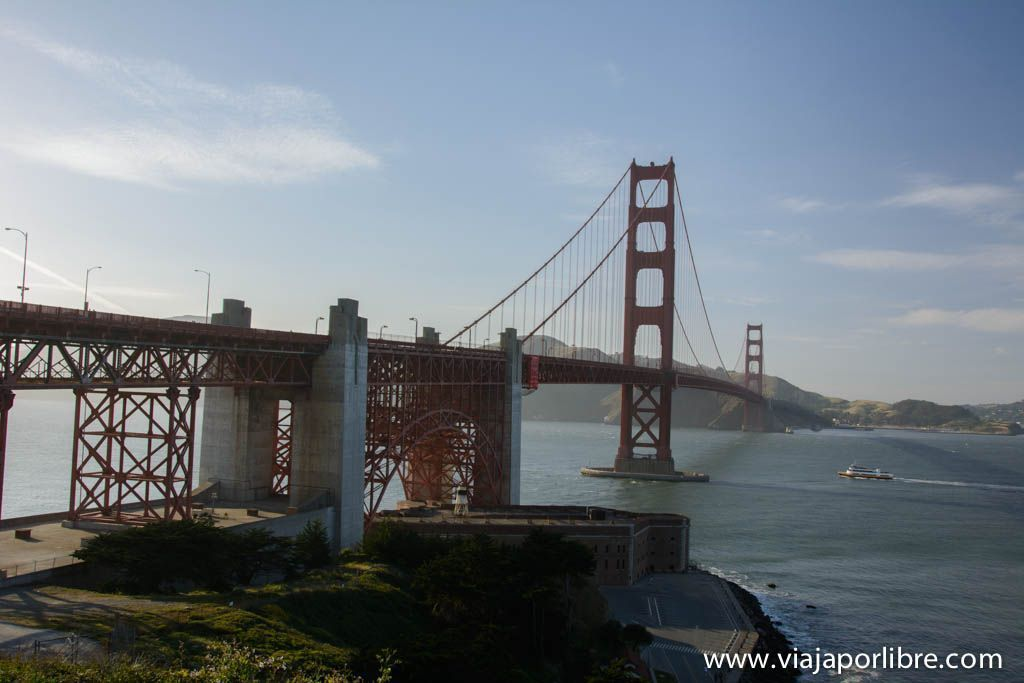 Golden Gate Bridge desde Vista Point