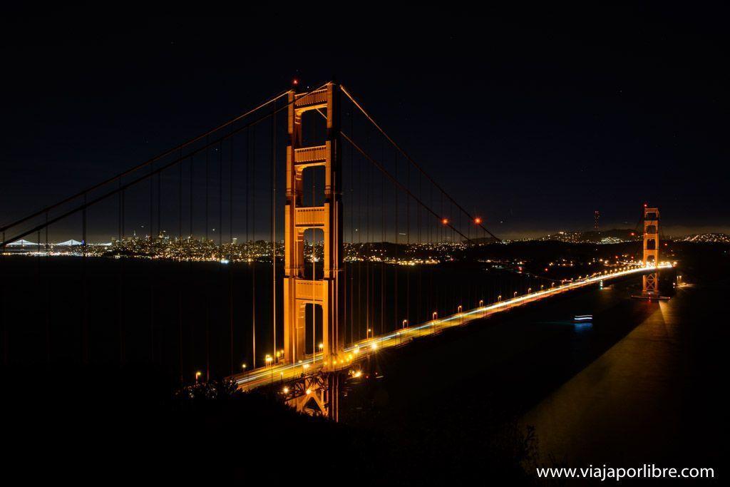 Las mejores vistas del Golden Gate bridge