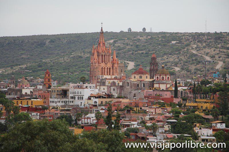 San Miguel de Allende desde un globo