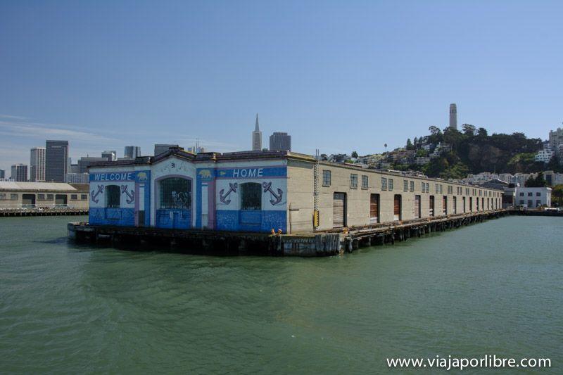 Pier 31 - Isla de Alcatraz
