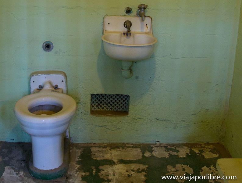 Rejilla de fuga de la Prisión de Alcatraz