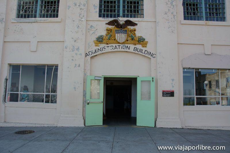 Centro de Bienvenida de presos - Isla de Alcatraz